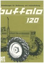 BUFFALO 120 - Anweisung fuer Bedienung und Instandhaltung