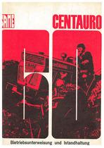 CENTAURO 60 - Bedienung und instandhalthung