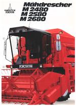 MÄHDRESCHER M 2480 - M 2580 - M 2680