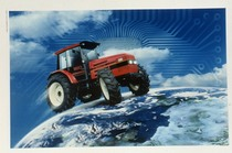 [SAME] foto per campagna pubblicitaria, trattore Titan 160
