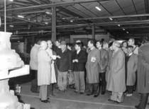 Visita dei concessionari italiani della Lamborghini presso lo stabilimento di Pieve di Cento