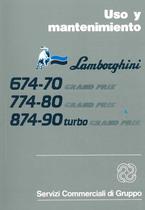 674.70 - 774.80 GRAND PRIX - 874.90 Turbo GRAND PRIX - Uso y Mantenimiento