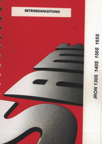 IRON 130S - IRON 140S - IRON 150S - IRON 165S - Betriebsanleitung