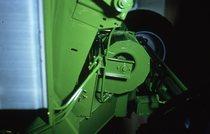 [Deutz-Fahr] mietitrebbia TopLiner 8 XL ad una fiera e alcuni dettagli delle componenti