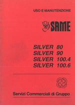 SILVER 80-90-100.4 - 100.6 - Libretto Uso & Manutenzione