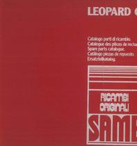 LEOPARD C - Catalogo Parti di Ricambio / Catalogue de pièces de rechange / Spare parts catalogue / Ersatzteilliste / Lista de repuestos
