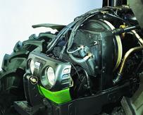 [Deutz-Fahr] dettagli iterno cabina e motore trattore Agroplus 100
