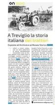 A Treviglio la storia italiana dei trattori