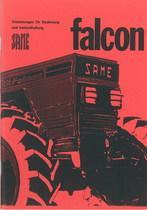 FALCON - Bedienung und instandhalthung