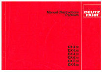 DX 4.30-4.50-4.70-6.10-6.30-6.50 - Manuel d'Instructions Tracteurs