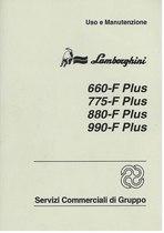 660 F - 775 F - 880 F - 990 F PLUS - Libretto Uso & Manutenzione
