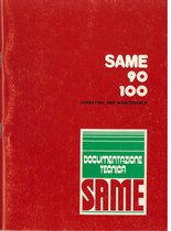SAME 90 - 100 - Operating and maintenance