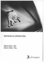 SPIRE 80 TARGET ->30001 - SPIRE 90 TARGET ->30001 - SPIRE 90.4 TARGET ->30001 - Instruckja operatora