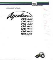 AGROTRON 106 MK3 - AGROTRON 110 MK3 - AGROTRON 115 MK3 - AGROTRON 120 MK3 - AGROTRON 135 MK3 - AGROTRON 150 MK3 - AGROTRON 165 MK3 - Workshop manual