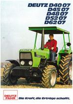 DEUTZ-FAHR D4007-4507-4807-5207-6207 Die Kraft, die Erträge schafft.