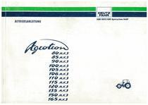 AGROTRON MK3 80-85-90-100-105-106-110-115-120-135-150-165 - Betriebsanleitung