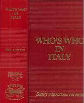 COLOMBO Giancarlo, WHO'S WHO, Treviglio, Who's who edition, 2001