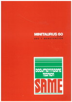 MINITAURUS 60 SYNCHRO - Uso y manutencion