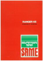 RANGER 45 - Utilisation et entretien