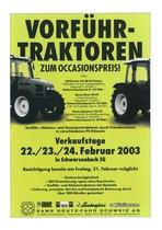 Vorfuehr-Traktoren zum Occasionspreis