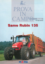 Prova in campo: Same Rubin 135