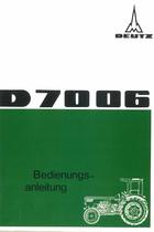 D 70 06 - Bedienungsanleitung