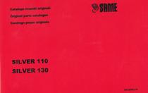 SILVER 110-130 - Catalogo ricambi originali / Original parts catalogue / Catálogo peças originais