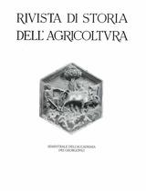 Sulla conservazione dei cereali nell'Italia medioevale