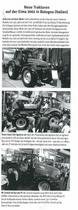 Neue Traktoren auf der Eima 2002 in Bologna (Italien)