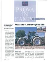 Trattore Lamborghini R8