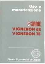 VIGNERON 62 - 75 - Libretto uso & manutenzione