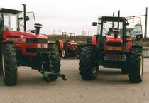 Trattori SAME Titan 160 in un parco macchine
