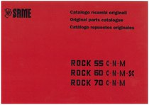 Rock 55-60-70 - Catalogo Parti di Ricambio / Original Parts Catalogue / Catalogo Repuestos Originales