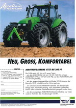 AGROTRON 160 - 175 - 200 Nue, Gross, Komfortable