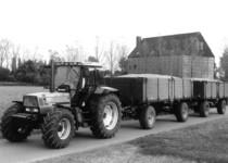 [Deutz-Fahr] trattore AgroStar 6.21 con rimorchio