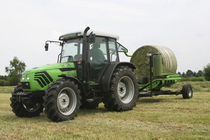 [Deutz-Fahr] trattore Agroplus 80 con rotoimballatrice