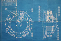 Motore B 8/110 - Complessivo pompa iniezione