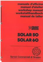 SOLAR 50 - 60 - Manuale d'officina