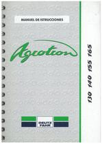 AGROTRON 130-140-155-165 - Uso y Mantenimiento