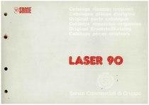 LASER 90 - Catalogo Parti di Ricambio / Catalogue de pièces de rechange / Spare parts catalogue / Ersatzteilliste / Lista de repuestos / Catálogo peças originais