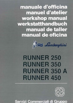 RUNNER 250 - 350 - 350 A - 450 - Workshop Manual