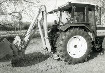 [Same] trattore modello Explorer II 90 turbo con pala caricatrice
