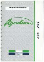 AGROTRON 215-265 - Bruger-og vedligeholdelsesvejledning
