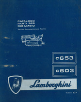 C 653 - C 603 - Catalogo parti di ricambio / Pièces de rechange du tracteur / Tractor spare parts / Ersatzteile für den Schlepper / Repuestos para tractor