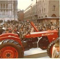 Lancio del trattore SAME Centauro a Bologna