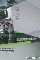 5100 - 5100P - 5110 - 5110P - 5120 - 5120P - Bedienings-handleiding