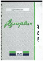 AGROPLUS 60-70-80 - Gebruik en Onderhoud