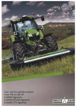6 SERIES / FOUR- AND SIX-CYLINDER TRACTORS / FROM 156 TO 226 HP / 6 SERIES AGROTRON / 6 SERIES RCSHIFT AGROTRON / 6 SERIES TTV AGROTRON