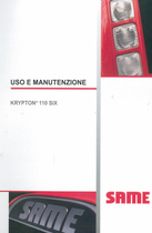 KRIPTON³ 110 SIX - Uso e manutenzione