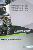 AGROFARM 410 G ->35000 - AGROFARM 410 G ->40000 - AGROFARM 430 G ->35000 - AGROFARM 430 G ->40000 - Manual do operador